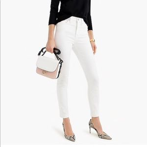 J. Crew high waisted skinny jeans